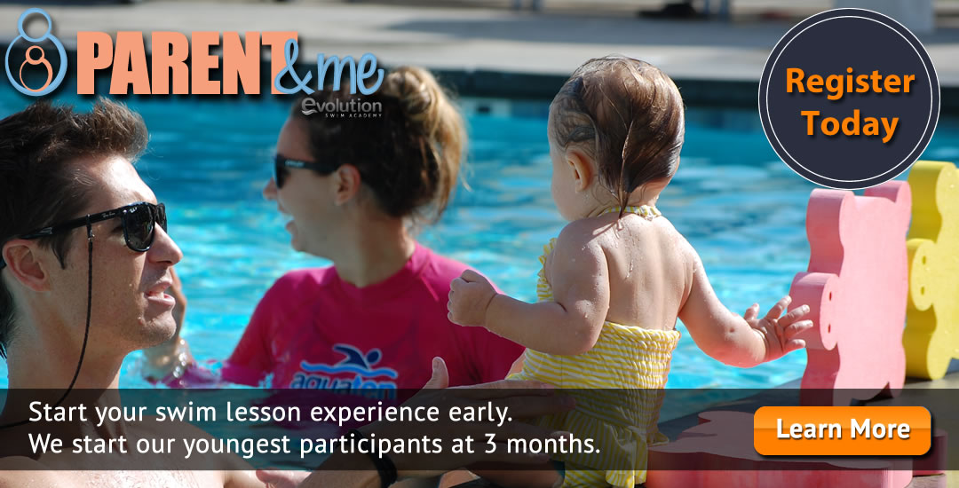 Parent and Me Swim Lessons - Register Today